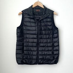 Black Puffy Vest from Joe Fresh
